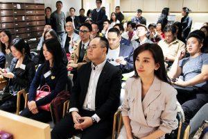 出席Party的【青年創業家】主要來自香港及【大灣區】,從事行業包括【互聯網】及【人工智能】、【綠色環保科技】及【文化娛樂】。